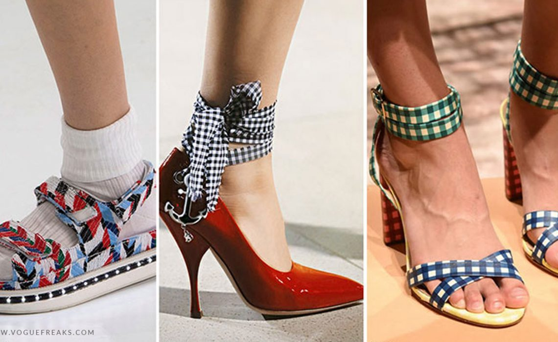 Latest Footwear Trends for Summers