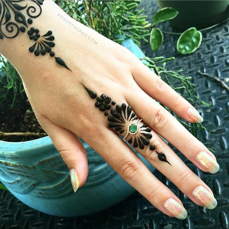 new mehndi designs 2018 easy