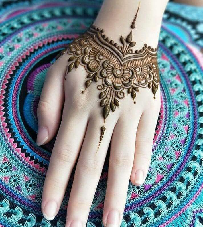 new mehndi designs for hands 2018