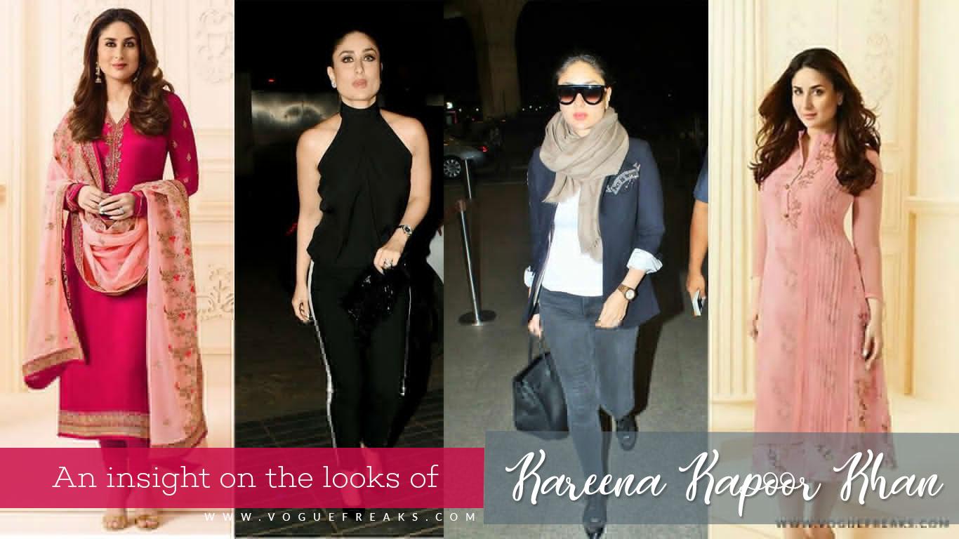 An insight on the looks of Kareena Kapoor Khan