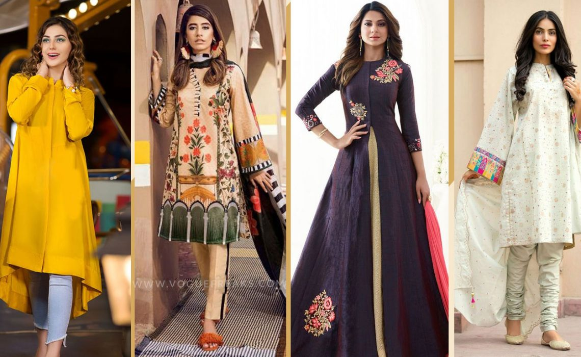 Latest Eid Dress Trends For Girls 2019