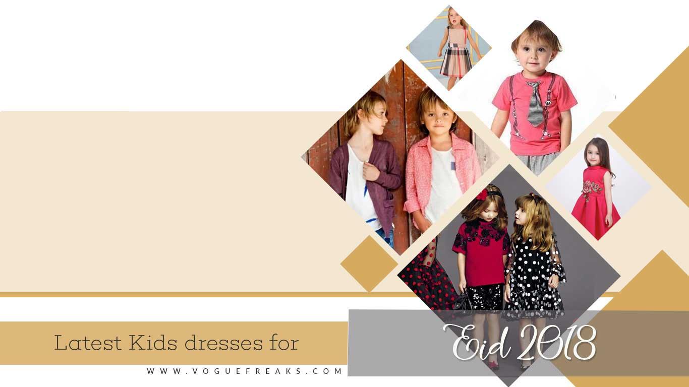 Latest Kids dresses for Eid 2018