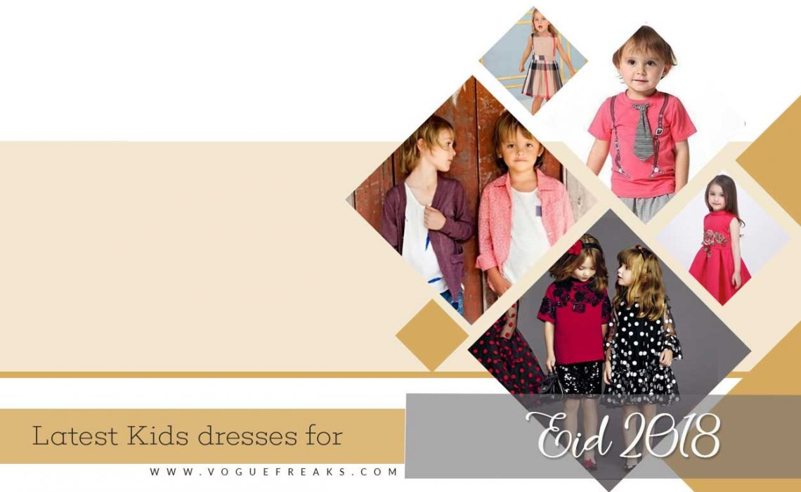 Latest Kids dresses for Eid 2019