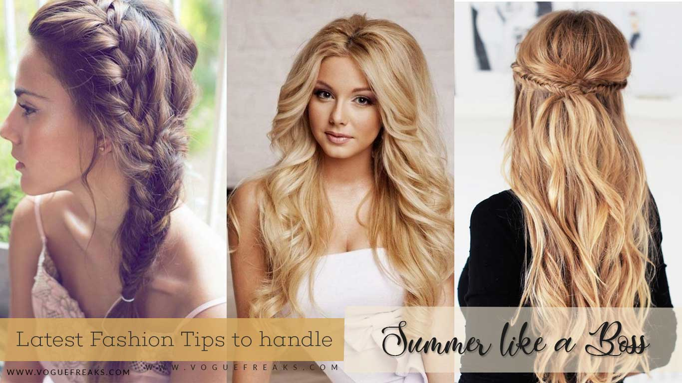 Latest Trends for Summer Hairstyles