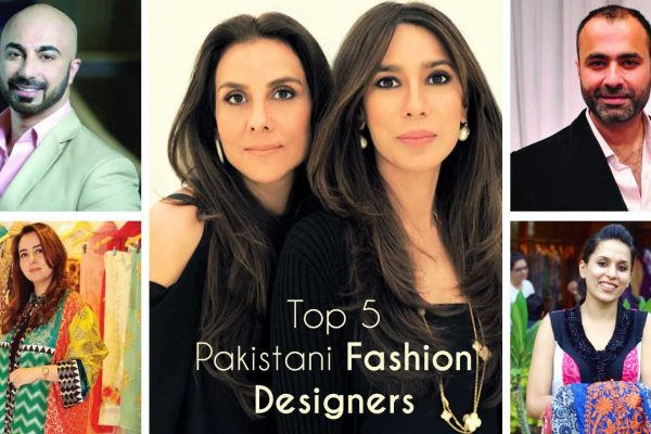 top Pakistani fashion designers