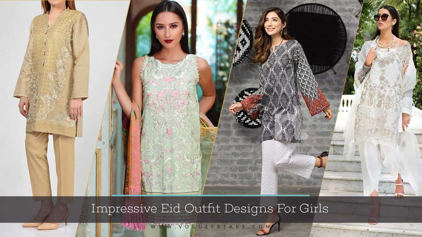 Impressive Eid Outfit Designs For Girls