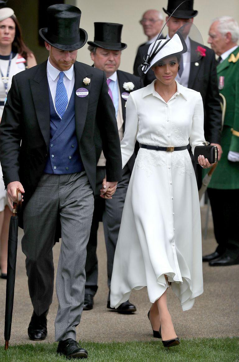 royal ascot meghan markle dress