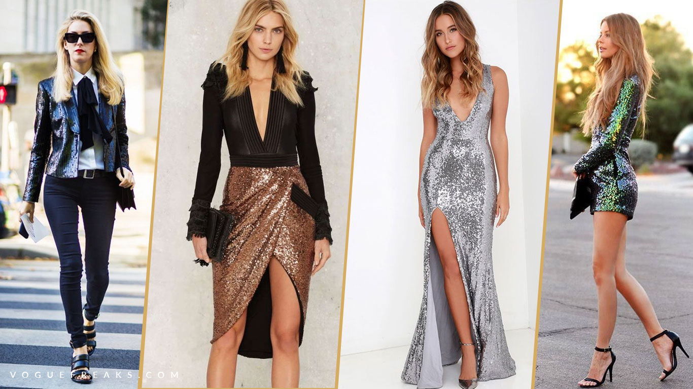 sequin outfits trends