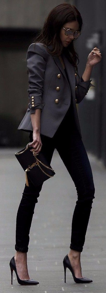 Black Jeans With blazer