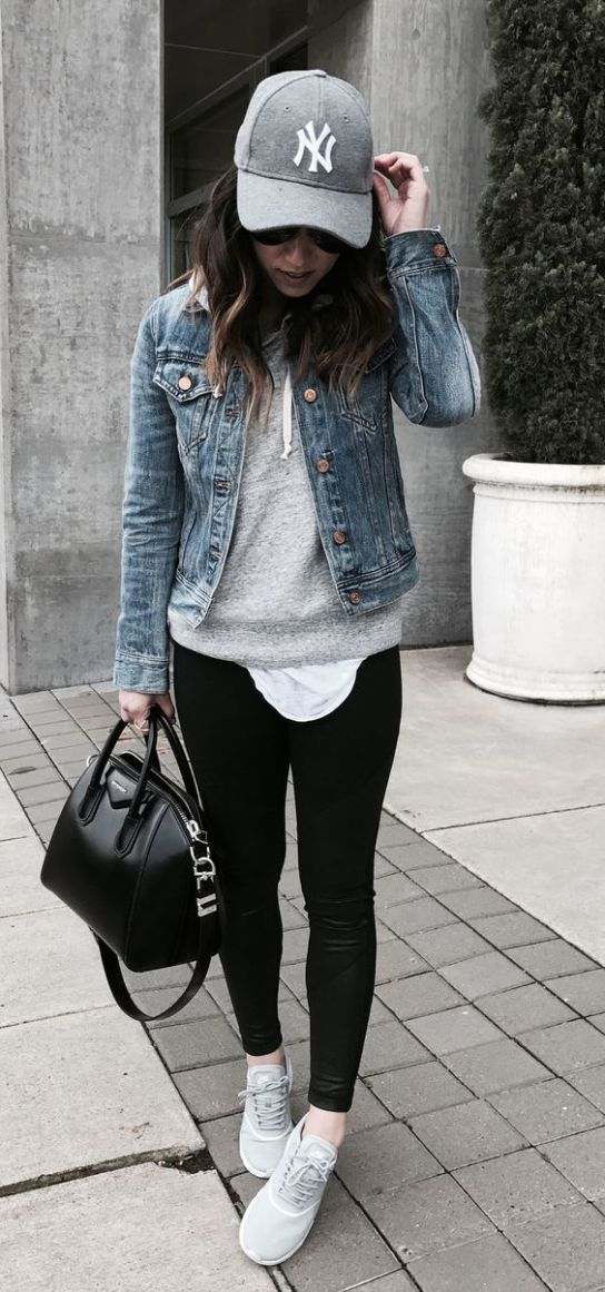Black Jeans With denim Jackets