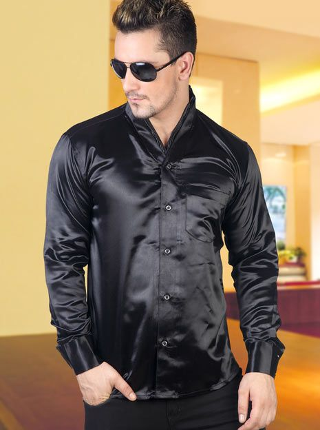 silk shirt for men