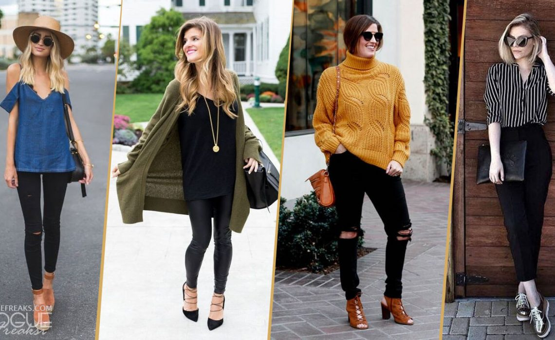 13 Awesome styling ideas with Black Jeans