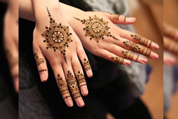 Mehndi Designs For Wedding Parties