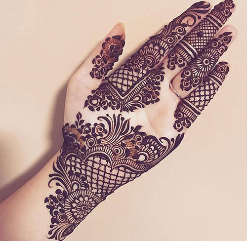 Latest Mehndi Designs Simple And Easy Collection