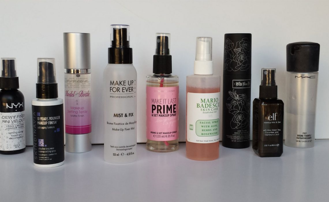 10 Best Makeup Setting Sprays for 2019