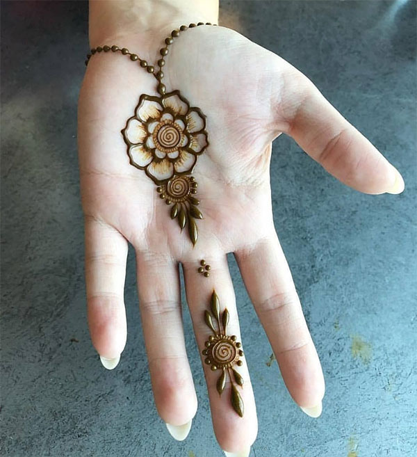mehndi designs palm