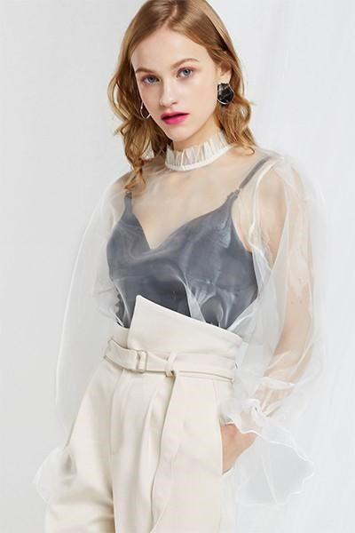 organza dress Adorn it as a cover-up