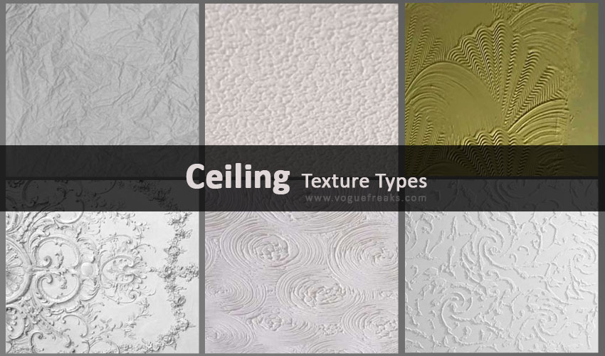 25 Different Ceiling Texture Types for Your Desired Home