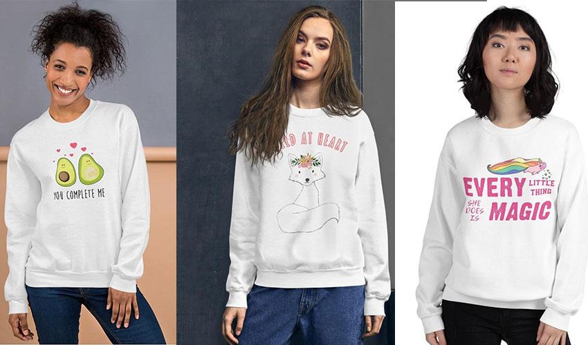 Top 5 Cute Sweatshirts for Women in 2021
