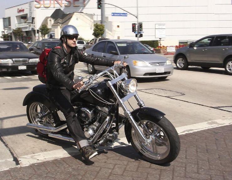 Justin Timberlakes bike